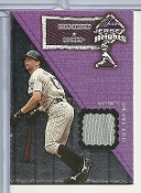 2002 Fleer Flair Jersy Heights #12 Todd Helton Card