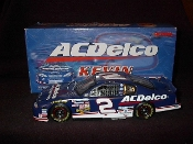 2000 Action 1/24 #2 Kevin Harvick AC Delco Clear Window Car