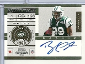 2011 Playoff Contenders #223 Bilal Powell Autograph Rookie Card